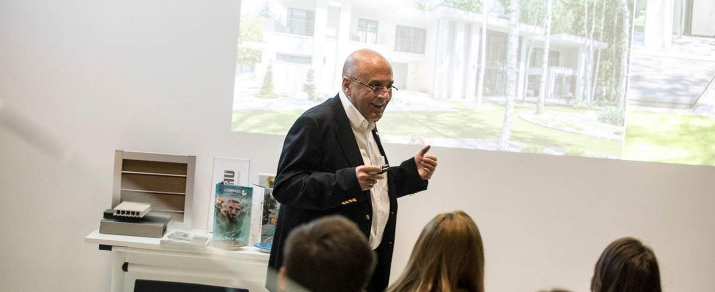 Gościem specjalnym był mgr inż. Leszek Kalandyk, główny autor projektów firmy LK&Projekt