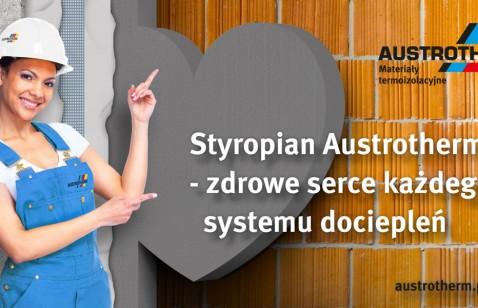 Styropian Austrotherm – zdrowe serce każdego systemu dociepleń
