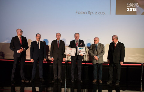 FAKRO Budowlaną Firmą Roku 2018