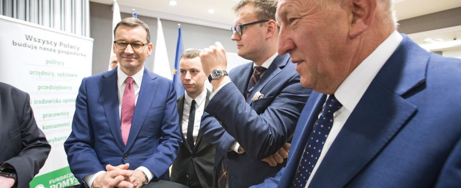 Premier Morawiecki spotkał się z polskimi przedsiębiorcami