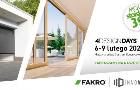 FAKRO na 4 Design Days w Katowicach – zapraszamy!