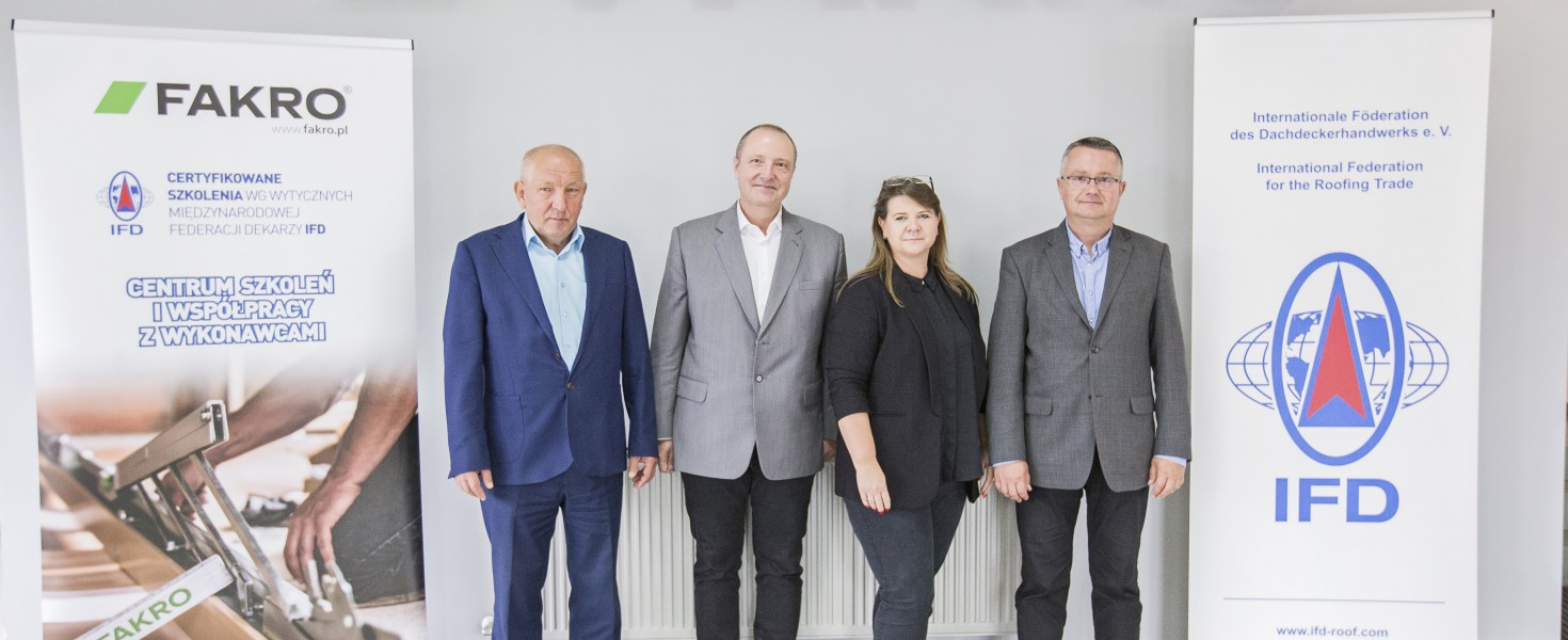 Nowy dyrektor Stowarzyszenia IFD w siedzibie FAKRO