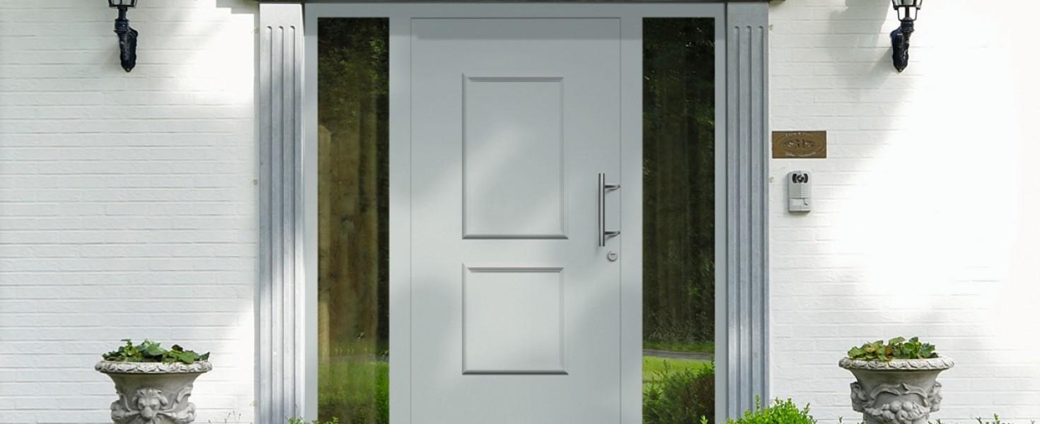 Drzwi zewnętrzne firmy Hörmann – nowe kierunki wzornictwa, większa funkcjonalność