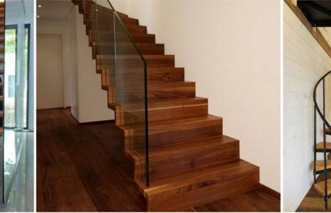 6 typów schodów ze względu na ułożenie stopni