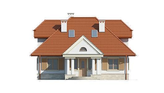 Projekt domu LK&461