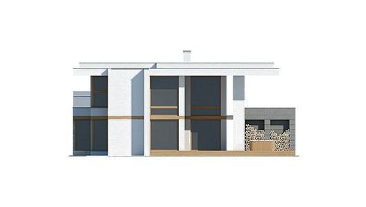 Projekt domu LK&1257
