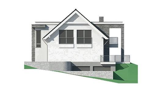 Projekt domu LK&1272