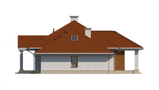 Projekt domu LK&723
