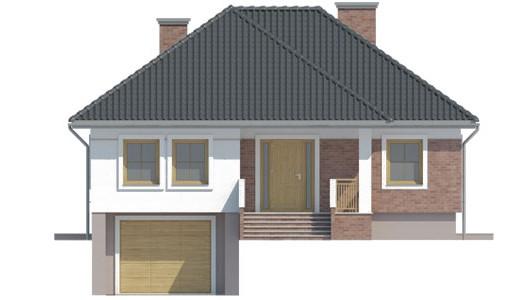 Projekt domu LK&536
