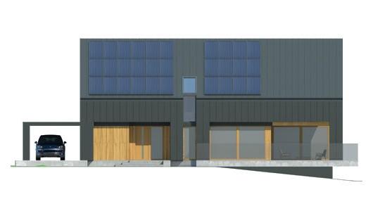 Projekt domu LK&1459