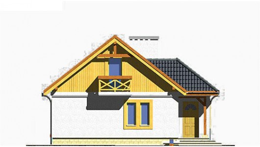 Projekt domu LK&197