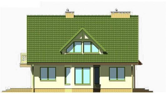 Projekt domu LK&135