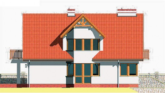 Projekt domu LK&131