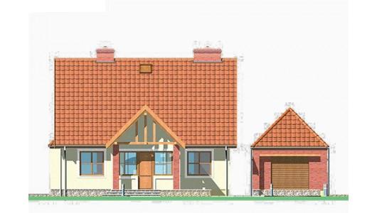 Projekt domu LK&72