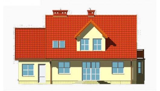 Projekt domu LK&109