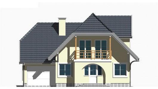 Projekt domu LK&279