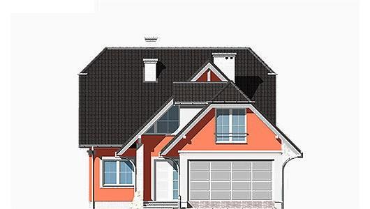 Projekt domu LK&335