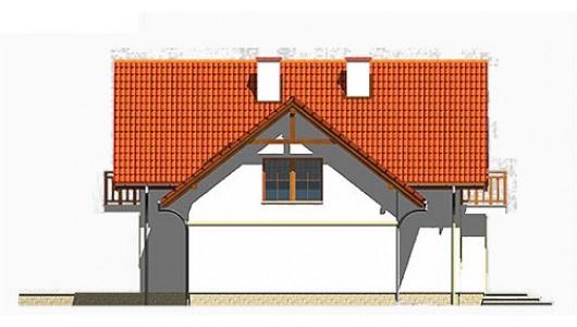 Projekt domu LK&350