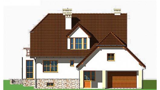 Projekt domu LK&148