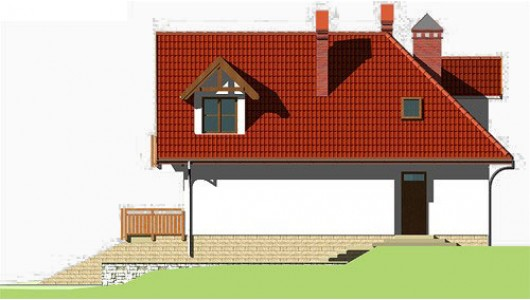 Projekt domu LK&300