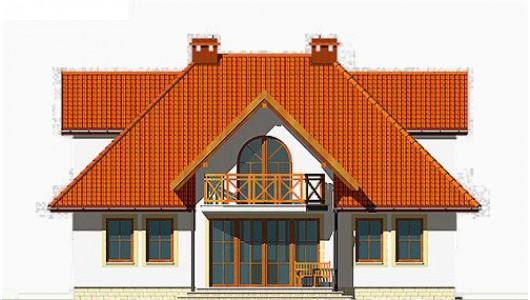 Projekt domu LK&137
