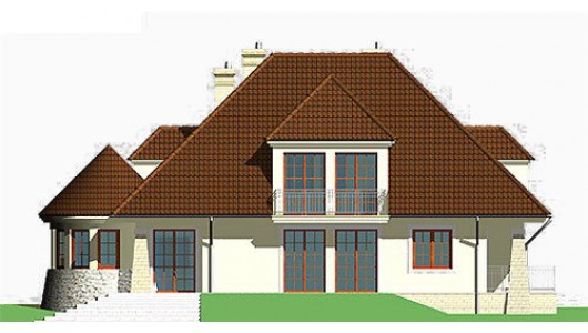 Projekt domu LK&345