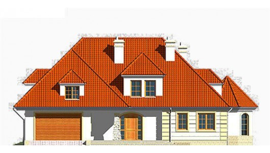 Projekt domu LK&349