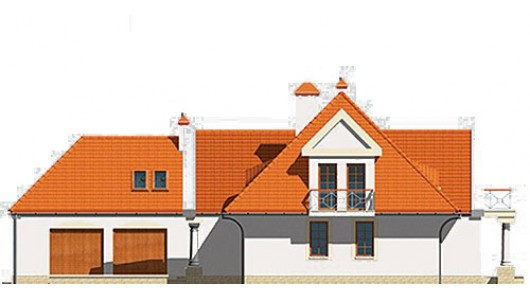 Projekt domu LK&154