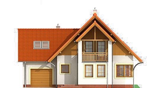 Projekt domu LK&163