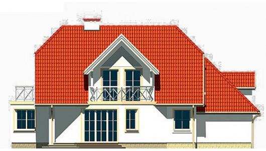 Projekt domu LK&261