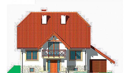 Projekt domu LK&377