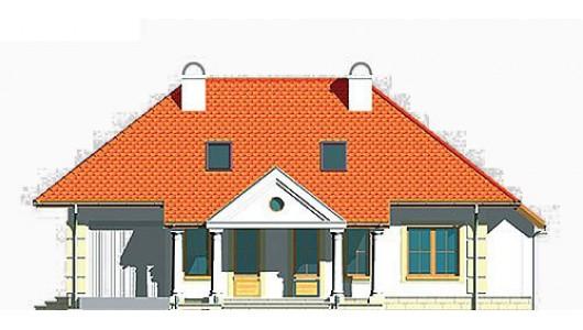 Projekt domu LK&378