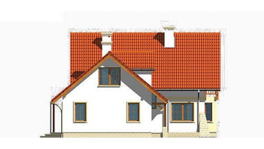 Projekt domu LK&328