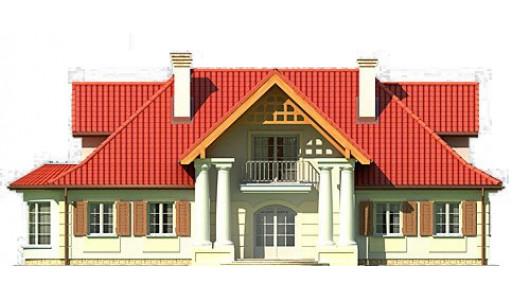 Projekt domu LK&233