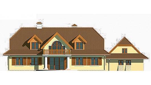 Projekt domu LK&238