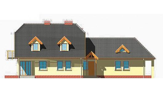 Projekt domu LK&245