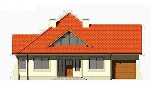 Projekt domu LK&266