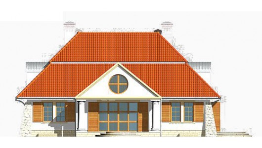 Projekt domu LK&329