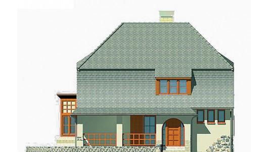 Projekt domu LK&235