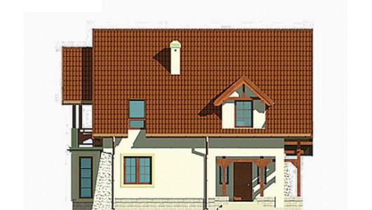 Projekt domu LK&194