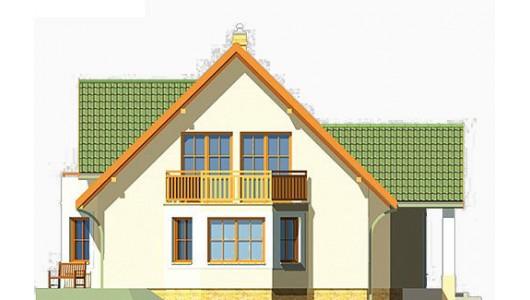 Projekt domu LK&133