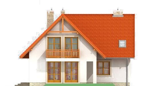 Projekt domu LK&144