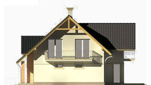 Projekt domu LK&44