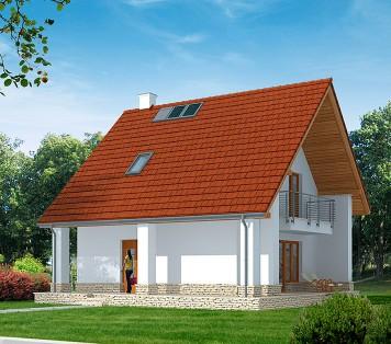 Projekt domu LK&818