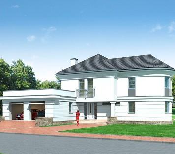 Projekt domu LK&794