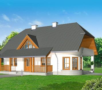 Projekt domu LK&742