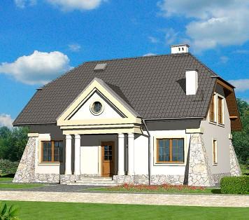 Projekt domu LK&727