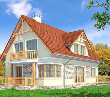Projekt domu LK&706