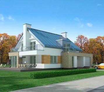 Projekt domu LK&653