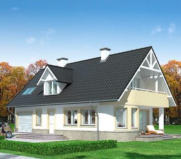 Projekt domu LK&643